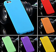 BIG D Silica Gel Fashion Soft Back Case for iPhone 6 (Assorted Color)