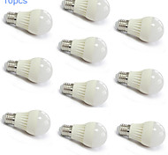 10pcs MORSEN® E27 5W 18X2835SMD 400-500LM Light LED Ball Bulb(220V)