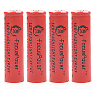 puissance accent 4.2v 6800mAh 18650 batterie au lithium-ion rechargeable (4pcs)