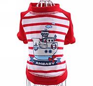 T-shirt - di Cotone - Rosso/Blu - Cosplay