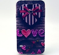 Love Box Pattern TPU Soft Case for Galaxy S5 Mini