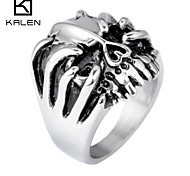 Kalen Men's Jewelry Stainless Steel Fashion Design Casting Arab Men Ring
