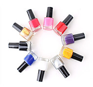 New Style Professional Printing/Stamping Nail Polish(8ml/pc,Assorted Colors)