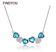 Women's Cubic Zirconia/Alloy/Rhinestone Necklace Anniversary/Wedding/Engagement/Birthday/Gift/Party/Daily/Causal/Office & Career/Outdoor