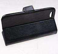 meilleur cuir de qualité de cas complète du corps pour iphone 6 (couleurs assorties)