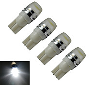 JIAWEN® 4pcs T10 1.5W 90LM 6000-6500K Cool White  Side Maker Lamp LED Car Light (DC 12V)