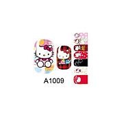 14PCS Nail Art Stickers A Series NO.1009