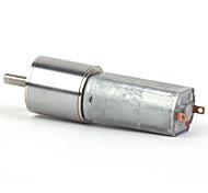 zndiy -bry 16ga-10 round dc 12v 10rpm motoriduttore - argento