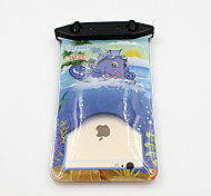 Universal 6 Inch Cartoon PVC Waterproof Phone Case 10 Meters Underwater Phone Bag Pouch Dry No.012 (All Models)