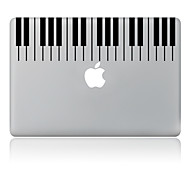 The Piano Design Decorative Skin Sticker  for MacBook Air/Pro/ Pro with Retina Display