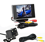RenEPai® 3.5 Inch Monitor + 170°HD Car Rear View Camera +  High-Definition Wide Angle Waterproof CMOS Camera