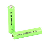 1.2V 600mAh AAA Rechargeable NiMH Battery(2pcs)