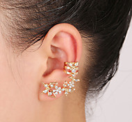 Butterfly Crystal Ear Cuffs Earrings(1 pair)