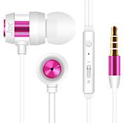 JTX-702 3,5 мм с функцией шумоподавления микрофон в ухо наушник для Iphone и других телефонов