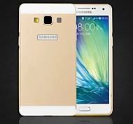 Special Design Solid Color Metal Back Cover and Bumper for Samsung Galaxy A5