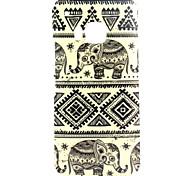 Elefantmuster TPU Tasche für HTC One M9