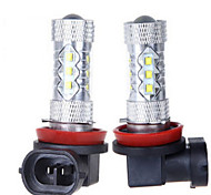 1 Stück dingyao Dekorativ Lichtdekoration H11 50 W 1200 LM 2800-3500/6000-6500 K 14LED High Power LED Natürliches Weiß DC 12/DC 24 V