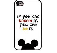 If You Can Dream it Design Aluminum Hard Case for iPhone 4/4S