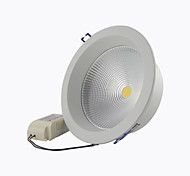"8A Lighting 5"" 20W COB 1800LM 2800-6500K Warm White/Cool White Recessed LED Downlights AC85-265V"