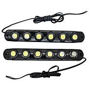 Luces Decorativas Decorativa ding yao E26/E27 3 W 6 LED de Alta Potencia 1200 LM Blanco Fresco DC 12/DC 24 V 2 piezas