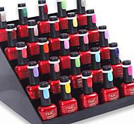 50pcs nail art polonais / uv anneau d'affichage de couleur de gel