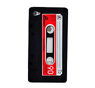 Retro Tape Silicone Back Cover for iPhone 5/5S(Assorted Colors)