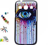 colore delle coperture occhi materiale modello pc e toccare la spina staffa penna polvere per Samsung Galaxy Ace 4 g357fz