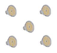 6W GU5.3(MR16) LED Spot Lampen 60 SMD 2835 540 lm Warmes Weiß / Kühles Weiß AC 220-240 V 5 Stück