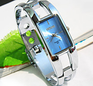 Women's Exquisite Fashion Bracelet Watch Square Dial Watch (Assorted Colors)
