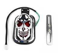cranio staffa fanale posteriore targa per moto Harley