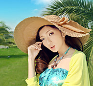 Women Fashion Casual Summer Straw Straw Hat(Assorted Color)