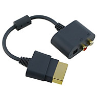 adaptador de cable de audio RCA para Xbox 360