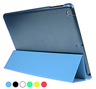 ENKAY Three-folding Ultra-thin Protective Smart Case with Stand for iPad mini 1/2/3 (Assorted Colors)