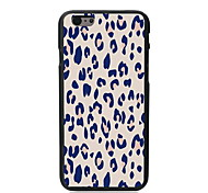 Pink Leopard Print Design PC Hard Case for iPhone 6