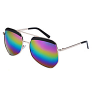 100% de las gafas de sol de color aviador UV400 gradiente polarizado (colores surtidos)