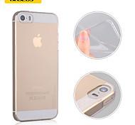 baseus® nano cristalina borracha macia TPU transparente fina ar capa para o iPhone 5 / 5s (cores sortidas)