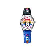 vendita calda famoso marchio Disney di alta qualità dell'unità di elaborazione dei bambini al quarzo cartoon band Wacthes dc-54091
