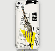 Giraffe Pattern Back Case for iPhone 6