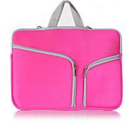 2015 venta caliente de alta calidad bolso de la manera del color sólido para MacBook Pro / retina 15,4 pulgadas