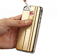 iPhone 7 Plus Cigarette Lighter Function Mobile Phone Case Battery Cover Shell for iphone 5/5S