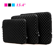 "Laptop Sleeve Case Notebook Bag Neoprene Eco-friendly for Macbook Air Pro 15.4"" (Pink/Blue/Black)"