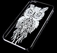 Nachteulenmuster transparenten Kasten für iphone4 / 4s