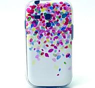 Blätter flattern Muster weiche Tasche für Samsung-Galaxie S3 i8190 Mini