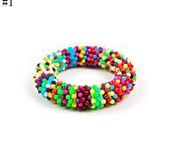 Cute Acrylic Strench Bracelet