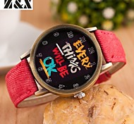 Women's Fashion Hand Quartz Analog Bracelet Watch(Assorted Colors)