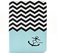 Magic Spider®Wave PU Leather Wallet Case Cover Stand with Screen Protector for Samsung Galaxy Tab T530