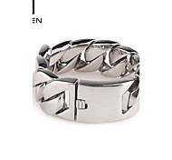 Kalen Men's Jewelry Shiny Design Fashion Stainless Steel Wide Cuff Bracelet