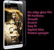 0,26 anti-arc bas grattage téléphone membrane royale d'acier bordure bleue adapté pour Huawei mate7