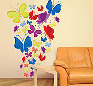 Beautiful PVC Dancing Butterflies Wall Stickers Wall Art Decals