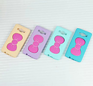 Bowknot Design Silica Gel Cover With Stand for Samsung Galaxy A5 Case (Assorted Color)
